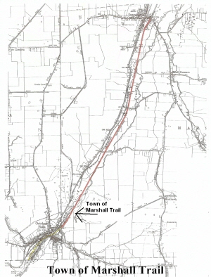 Town of Marshall Trail Map 300w